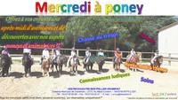 Mercredi à Poney